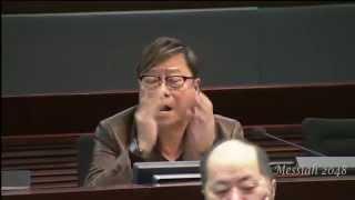 黃毓民:我以為身在北韓。