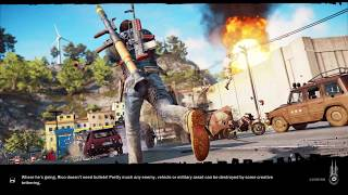 Just Cause 3 Part 13  Game Play Finish Province Find Hidden Missions PS4 Game PLay