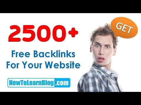2500+ Auto Backlinks Creator for Website & Blog