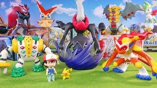 Pokemon Toys - Big Figure Collection Unboxing - Darkrai , Regigigas , Giratina , Zoroark