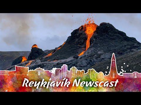 A Long Dormant Volcano Erupts Near Reykjavik in Iceland