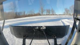 FPV Kyosho Blizzard in the snow