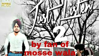 Reply To Just Listen 2 (support In Sidhu Moose Wala 22) By Maan Saab