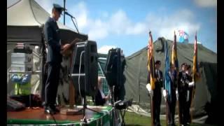 Spitfire - Lytham St.Annes Memorial Service 2010