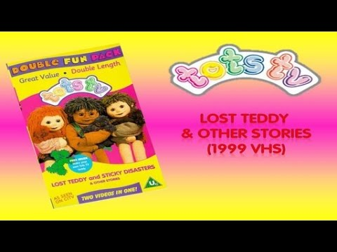 Tots TV: Lost Teddy & other stories (1999 VHS)