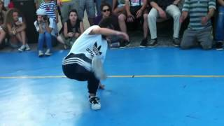 preview picture of video 'Meeting of Styles 2012 Nikaia - b boy battle'