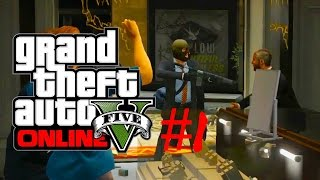preview picture of video 'Grand Theft Auto V Heist #1 - Das ging aber fix'
