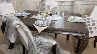 2020 DOLLAR TREE DIY TABLESCAPE/BUDGET FRIENDLY DINING DECORATING IDEAS