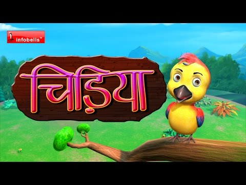 chu chu karti aayi chidiya Hindi Rhymes for Children