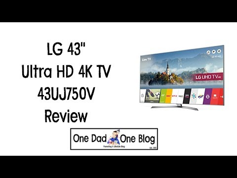 LG 43″ Ultra HD 4K TV Review 43UJ750V