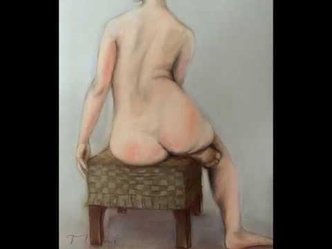 裸婦デッサン3
