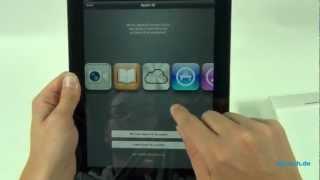 Apple iPad 4 Unboxing und Kurztest -  Deutsch