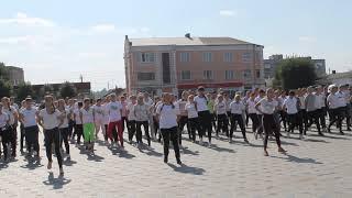 """Студенти Бердичівського медколеджу на заході """"Рух - життя, спорт - здоров'я"""""""