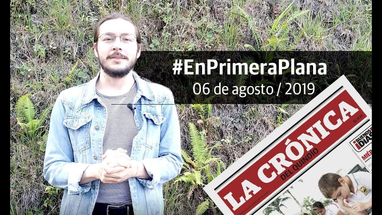 En Primera Plana: lo que será noticia este miércoles 7 de agosto