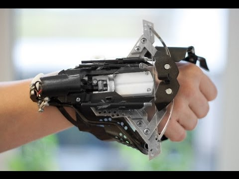 Wrist-Mounted Crossbow? Yes Please!