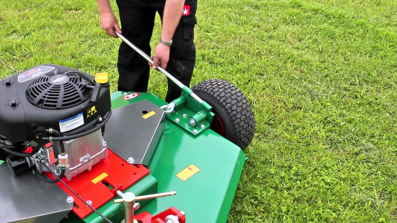 Wessex AR Series Mower 12,5hp