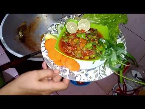 Video Sambal Pete-Indonesian Food
