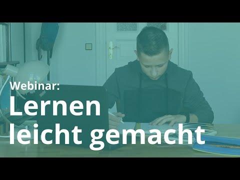 , title : 'Webinar: Lernen leicht gemacht