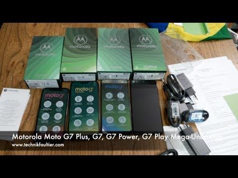Video over Motorola Moto G7 Play