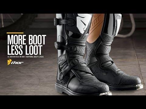 Thor Motocross Stiefel Blitz Video