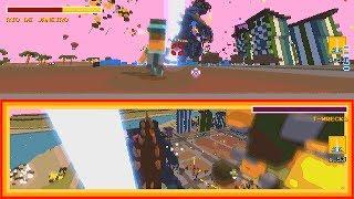 Super Man Or Monster - Splitscreen Gameplay