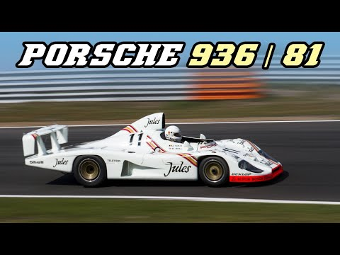 1981 Porsche 936/81 - fly-by's and engine warm-up