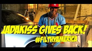 Jadakiss Gives Back to The People Who Need It #FilthyAmerica | JordanTowerNews