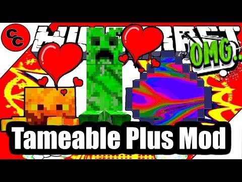 Tameable Plus для Майнкрафт