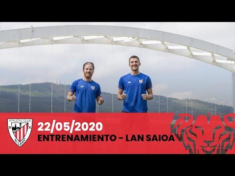 Entrenamiento Athletic Club (22-05-2020)