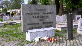 preview picture of video 'Miechów Cmentarz Wojskowy'