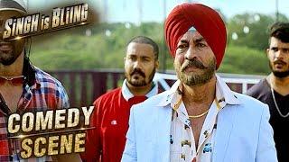Raftaar First Meets With His Boss Kirpal Singh | Comedy Scene | Singh Is Bliing | Amy Jackson | HD