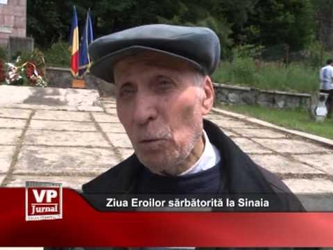 Ziua Eroilor sărbătorită la Sinaia