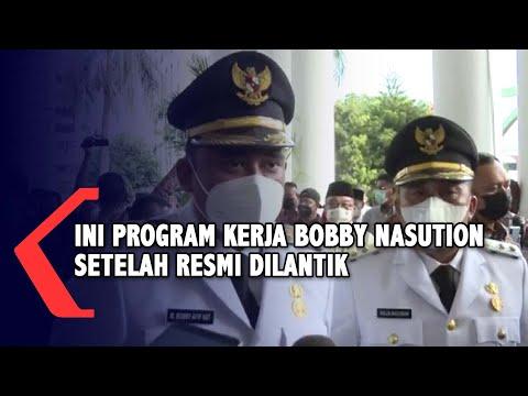 Ini Program Kerja Bobby Nasution usai Dilantik Sebagai Wali Kota Medan