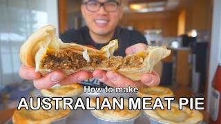 How To Cook AUSTRALIAN MEAT PIE