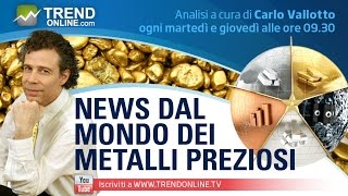 GOLD - USD - Previsioni Oro 2017, Fed o Trump