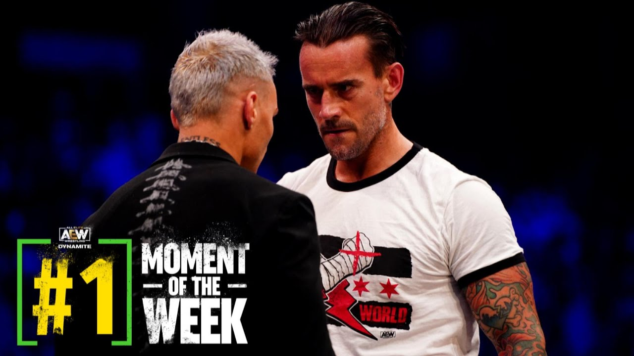 CM Punk And Darby Allin Face-Off Before Their Big Match