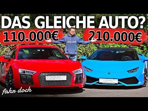 Audi R8 V10+ vs Lamborghini Huracan Spyder | Gebrauchtwagen-Check | Fahr doch