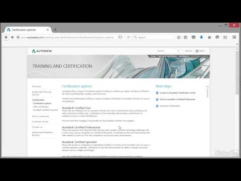 Cert Prep: AutoCAD Certified Professional | What is an Autodesk ...