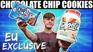 GHOST LIFESTYLE CHOCOLATE CHIP COOKIE WHEY REVIEW - EU CHIPS AHOY!