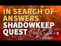 In Search of Answers Destiny 2 Quest