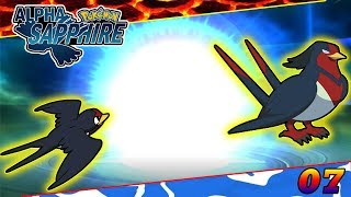 Swellow  - (Pokémon) - Tailow Evolve into Swellow in Pokemon Alpha Sapphire Gameplay 07 in Hindi | SuperDuperHindi