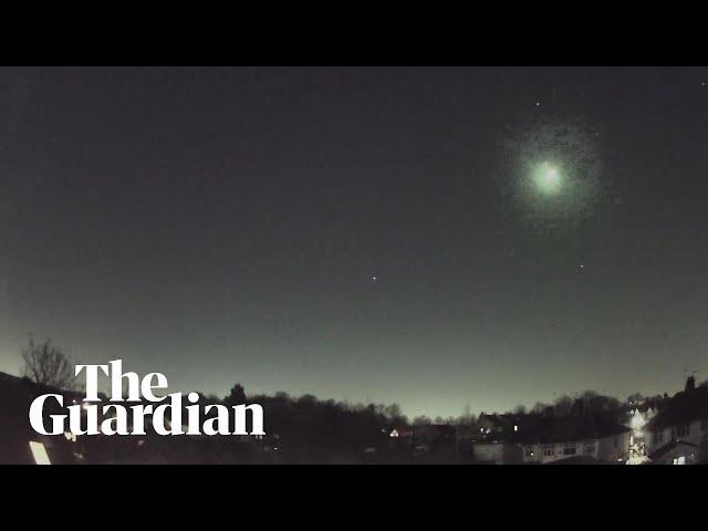 Перед домом британской пары упал редчайший метеорит из далекого прошлого