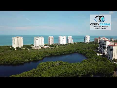 Bay Colony Naples, Florida beachfront high rises video