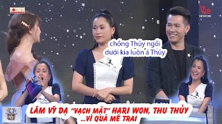 """Lâm Vỹ Dạ VẠCH MẶT """"Hội gái đã có chồng"""" Hari Won, Thu Thủy ngay trên sân khấu Giọng Ca Bí Ẩn"""