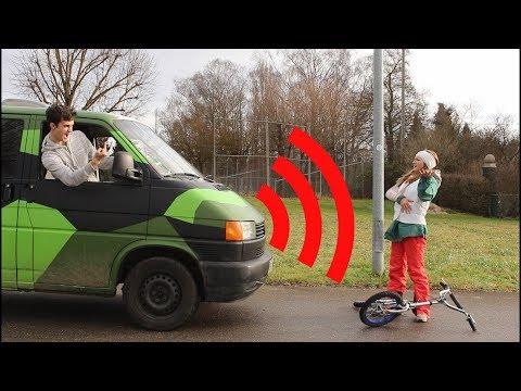 Extra laute SIGNALHÖRNER für meinen VW Bus