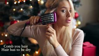 Straight Hair In Just 2 Minutes - BaByliss Liss Brush 3D By Carmen Grebenisan