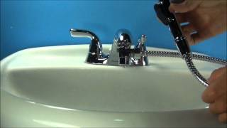 Aquaus for Faucet Installation with Stainless Steel Hose *New and Improved MiniShower*