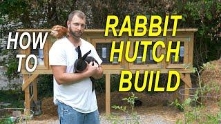 Rabbit HUTCH - Predator Proof - How To Build