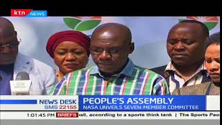 NASA unveils a seven member committee to coordinate the People's Assembly