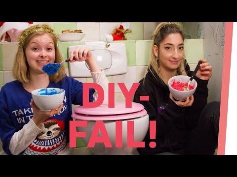 XMAS DIY BADEBOMBEN FAIL mit Eda und Lisa